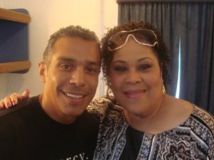Tony with Martha Wash
