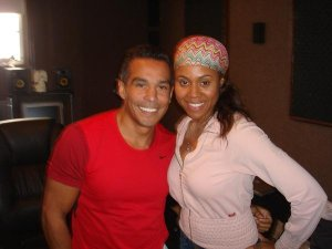 Tony with Deborah Cox