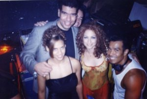 Tony with Gloria Estefan