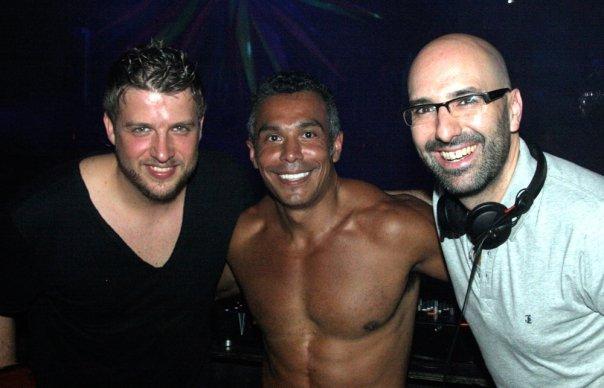 Tony with Chus & Ceballos